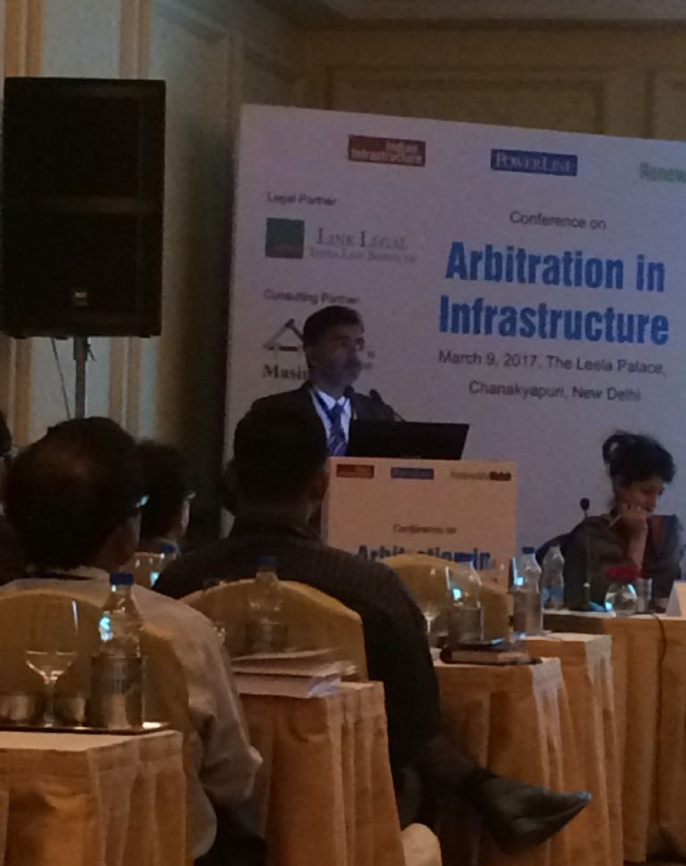 Masin Participates in Conference On Arbitration in Infrastructure