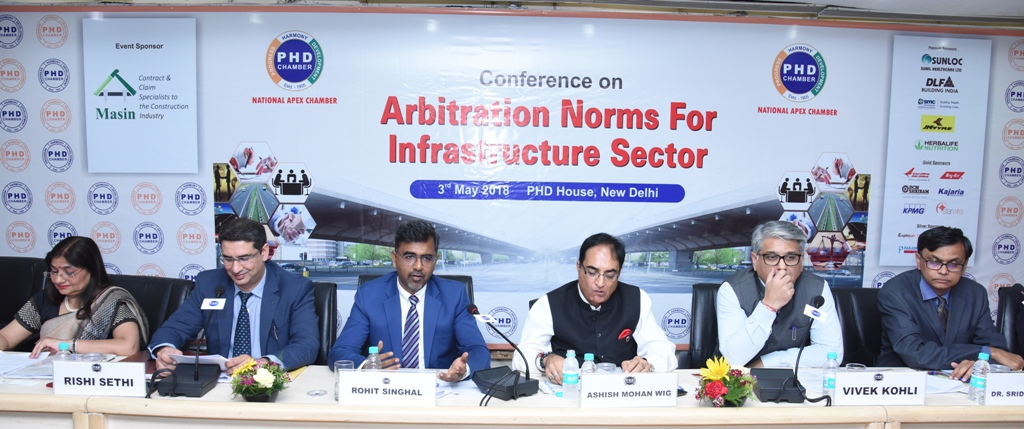 """Masin Participates in Conference On """"Arbitration Norms For Infrastructure Sector"""""""