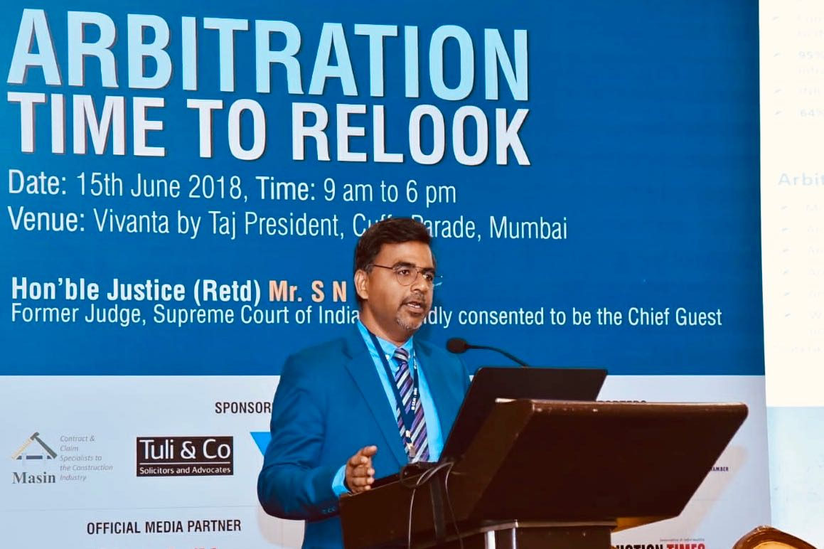 """Arbitration Time to Relook"" Seminar'2018"