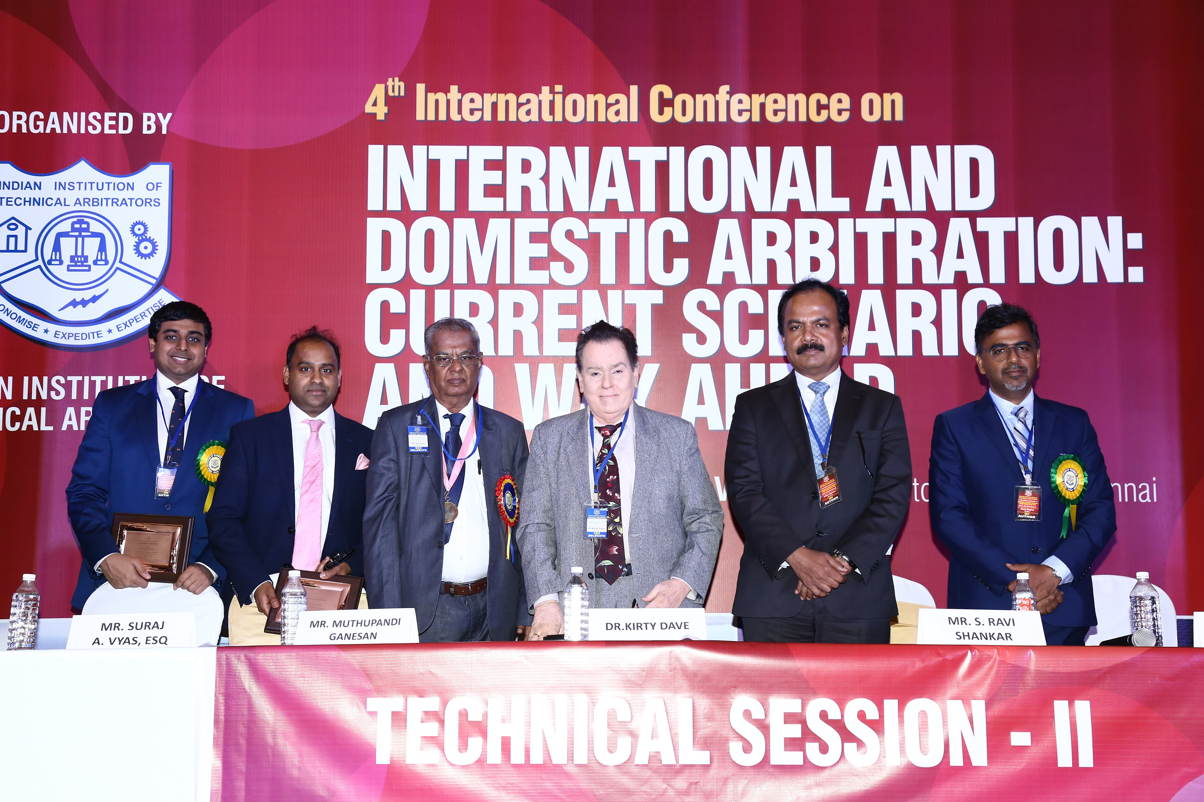 """4th International Conference on """"International and Domestic Arbitration : Current Scenario and Way Ahead"""