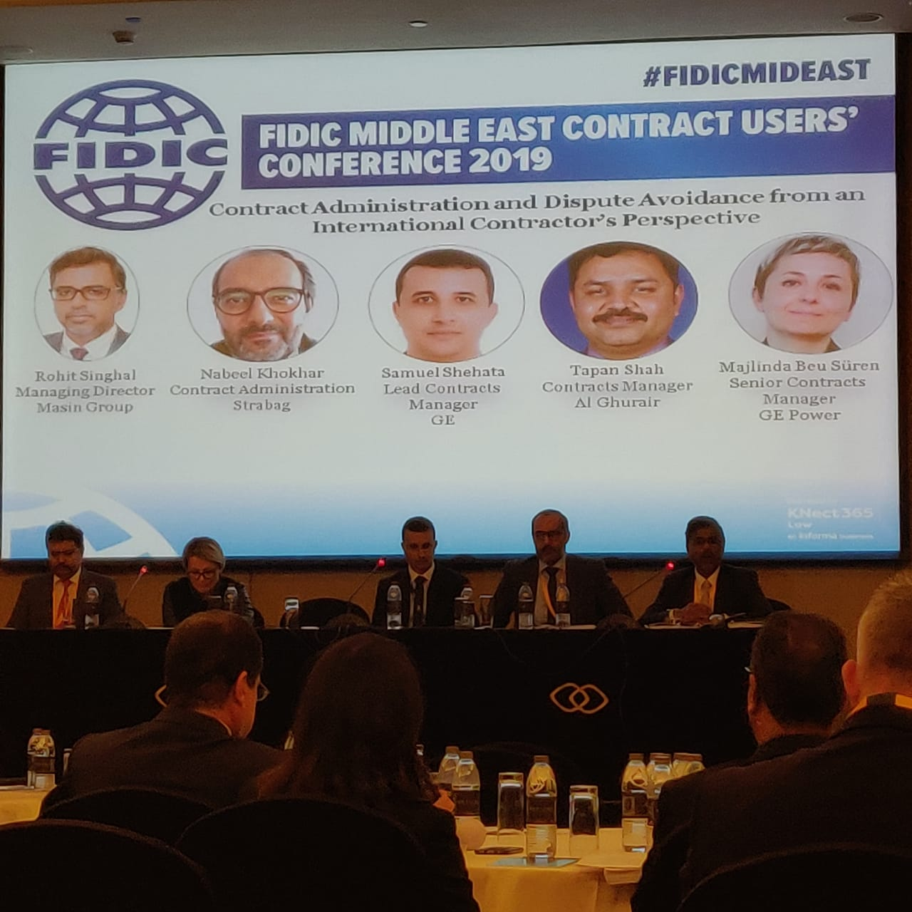 International Federation of Consulting Engineers (FIDIC) Conference – Dubai (UAE)