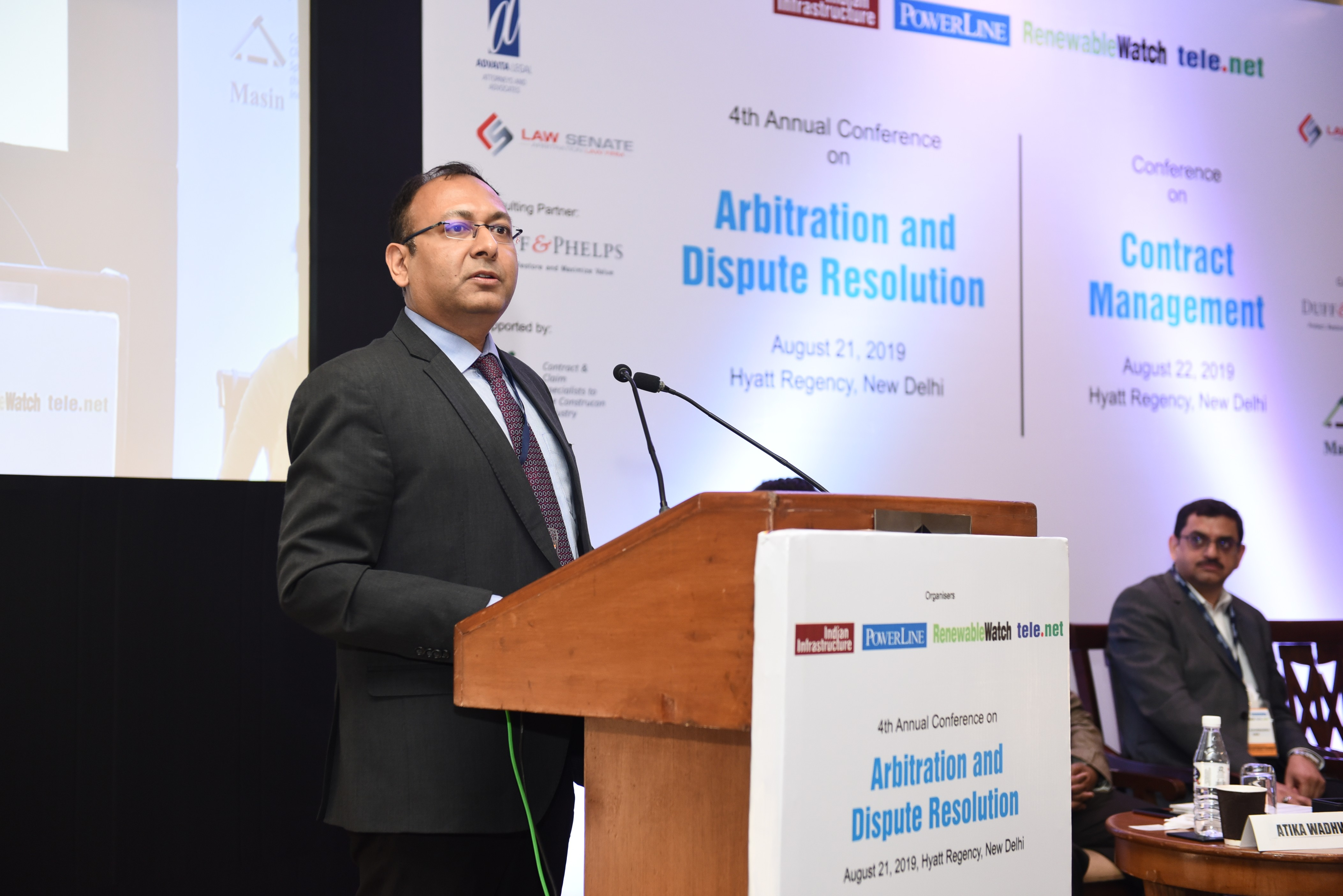 4th Annual Conferences on Arbitration & Dispute Resolution and Contract Management– New Delhi