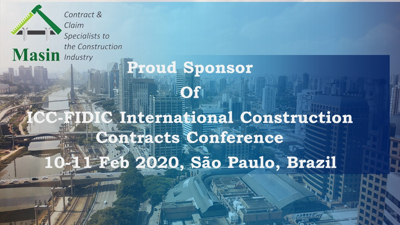 ICC-FIDIC Conference on International Construction Contract – São Paulo, Brazil